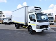 2006 Mitsubishi CANTER FUSO FE7 136 Refrigerated Body