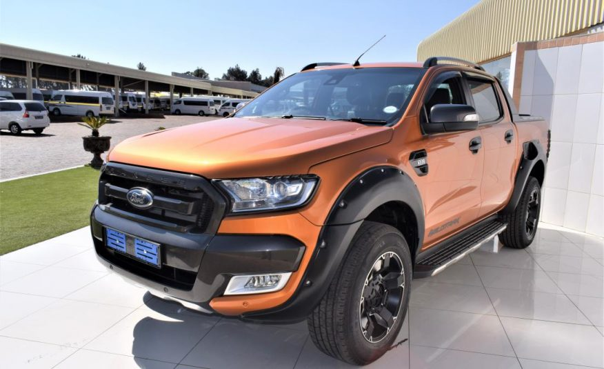 2016 Ford Ranger 3.2TDCi 3.2 WILDTRAK 4X4 Auto Double Cab